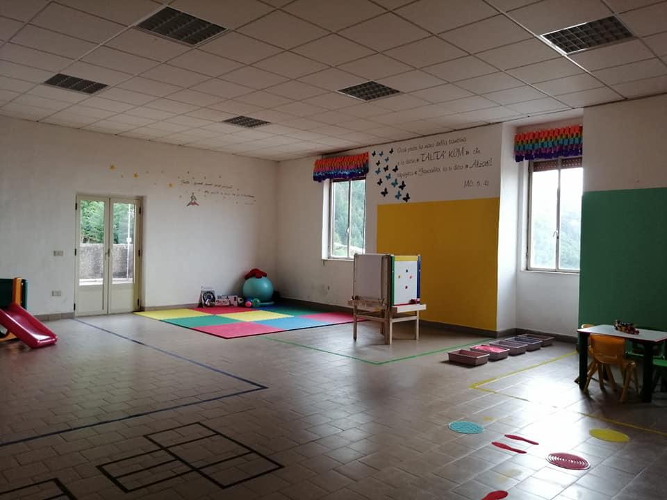 Una sede di Parent to parent per il sostegno a bambini e genitori
