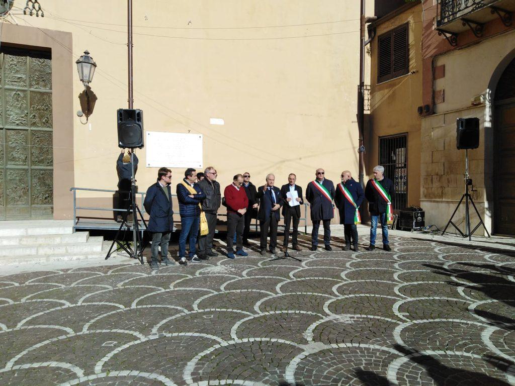 """Sit-in del Comitato """"Vogliamo la strada Corleone/Partinico"""""""