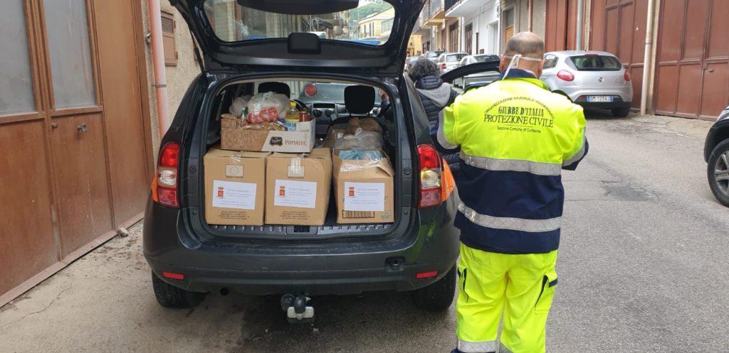 Emergenza Covid-19, Comune e Protezione Civile in campo per le famiglie