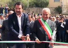 Ministro Salvini a Corleone