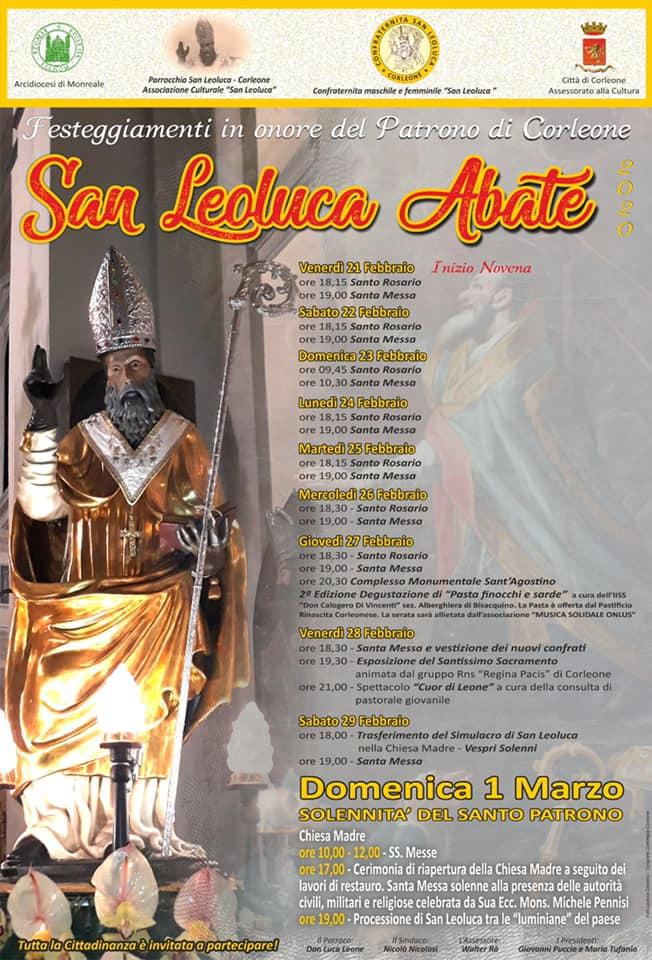 San Leoluca  Abate 2020