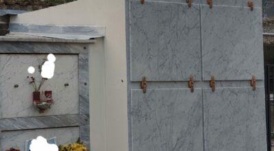 Installati otto nuovi loculi al cimitero