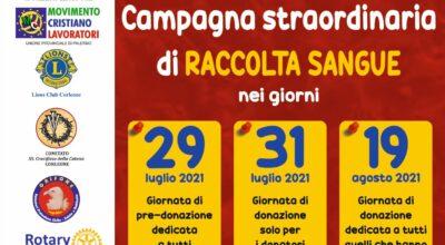 Giornate della solidarietà per la raccolta di sangue
