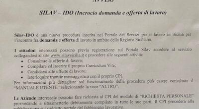 Silav-IDO, il nuovo servizio della Regione per chi cerca lavoro